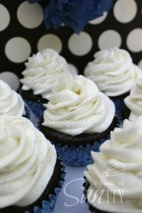 Amazing buttercream frosting, for any type of cake or cupcake.