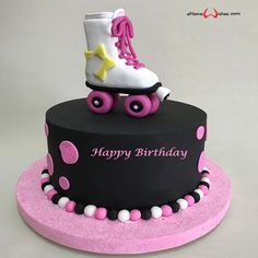 Write name on Create Name on Happy Birthday Cake with Name And Wishes Images and create free Online And Wishes Images with name online. Beautiful Birthday Cake Images, Create Name, Wishes Images, Happy Birthday Cakes, Names, Desserts, Free, Breakfast, Tailgate Desserts