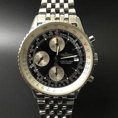 Breitling Navitimer Chronograph. #watchporn #watchmania #wristwatch #watchoftheday #timepiece #secondhand #instawatch #secondoriginalwatch #jamtanganseken #preownedwatch #luxurywatch. www.mulialegacy.com