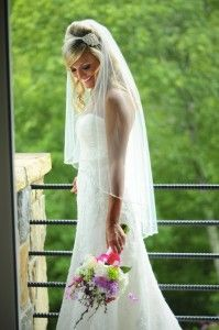 By Cynthia Viola Photography | bride | castle ladyhawk