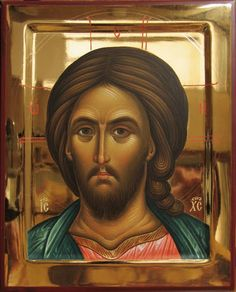 Our Lord Jesus Christ Byzantine Icons, Byzantine Art, Religious Icons, Religious Art, Christ Pantocrator, Paint Icon, Images Of Christ, Christ The King, Russian Icons