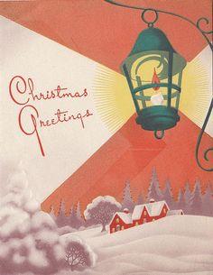 §§§ . vintage 1940 greeting card