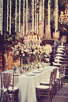 Photography: Tamiz Photography - www.tamizphotography.com Florist: Teresa Sena Designs - teresasena.com Wedding Venue: Haiku Mill - haikumill.com   Read More on SMP: http://www.stylemepretty.com/2014/08/27/glamorous-maui-destination-wedding/