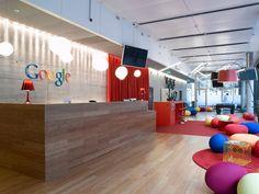 Google India Office   Modern Corporate Office Design #Modern #Design #Office