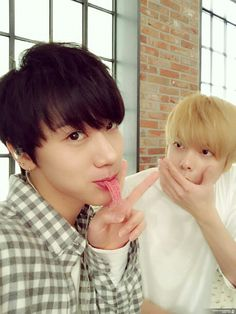 Ten and Hansol #SMRookies