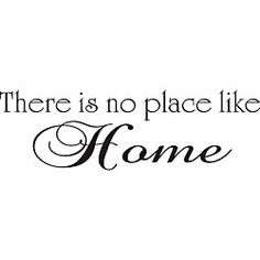 Design on Style 'There is No Place Like Home' Vinyl Wall Art Quote - 13076905 - Overstock.com Shopping - The Best Prices on Design on Style Quotes & Sayings