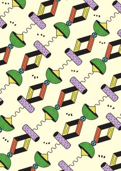 Welcome to all the new followers ! Still workin' on my first fanzine, will be out for the summer, I promise ! This is another pattern with lime and nachos.