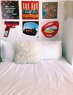 Interior Design and Home Decor Ideas My New Room, My Room, Dorm Room, Teen Room Decor, Bedroom Decor, Bedroom Ideas, Aesthetic Rooms, Dream Rooms, Dream Bedroom