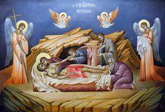 Byzantine Icon by Eleni Dadi Byzantine Art, Byzantine Icons, Religious Icons, Religious Art, Trinidad, Pictures Of Jesus Christ, Albrecht Durer, Art Icon, Orthodox Icons