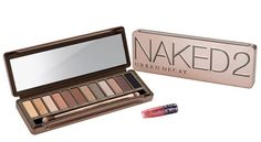 Cruelty free make up. Urban decay - Naked 2 palette   Pretty natural colors , naked effect
