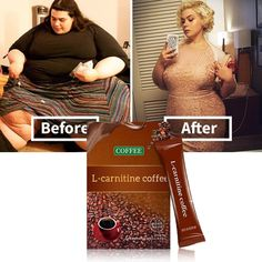 L-carnitine Instant Coffee for Weight Loss, Slimming Coffee,1 Box (7 Packs Total) Slimming Coffee, Instant Coffee, Boost Your Metabolism, Weight Loss Drinks, Loose Weight, How To Increase Energy, Body Care, Health Goals, Sugar Free