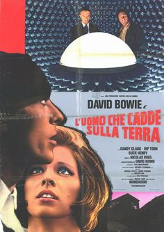 The Man Who Fell To Earth (1976) Spanish Poster