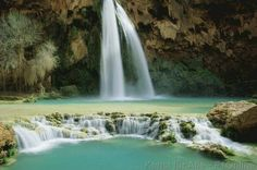 Havasupai, Grand Canyon, Pool