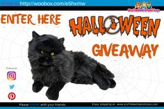 I just entered this great giveaway, you should too. It's from the amazing plush toy website  www.stuffedwithplushtoys.com - where the world shops for plush toys. enter every single day until Oct 21.