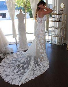 Wedding Dress Shopping at Malindy Elene in Tampa, FL: Martina Liana Wedding Dress Shopping, Wedding Dresses, Lace, Fashion, Bride Dresses, Moda, Bridal Gowns, Fashion Styles
