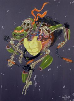 """Nychos: """"Street Anatomy."""" Currently at Fifty24SF in..."""
