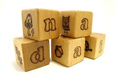 Simply Fun Stuff: Wood Carved Blocks - Just Something I made