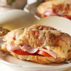 Ham & Goat Cheese Croissant Sandwich — David Venables Recipes — QVC Recipes — Kitchen & Food — QVC.com
