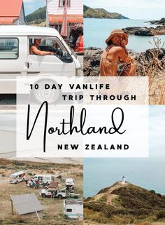 Northland, New Zealand is the perfect place for a 10 day road trip in New Zealand. Incredible screnery, beaches and culture, this itinerary has you covered. Beach Buggy, Point Break, Holiday Park, New Zealand Travel, Australia Travel, 10 Days, Van Life, East Coast, Day Trips