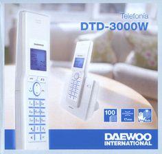 Dect Daewoo DTD3000 blanco m/libres #iphone #blogtecnologia #tecnologia Visita http://www.blogtecnologia.es/producto/dect-daewoo-dtd3000-blanco-mlibres