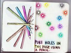 poke holes | Tumblr