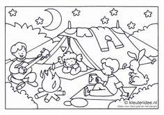 Op de camping!