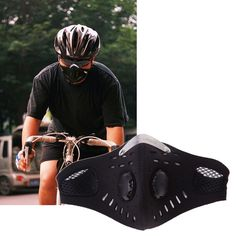 Anti-pollution City Cycling Face Mask Mouth-Muffle Dust Mask Bicycle Sports Outdoor Mountain Bicycle Masks