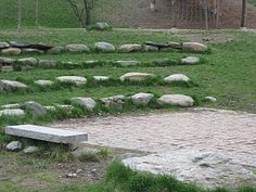 stage elementary natural playgrounds