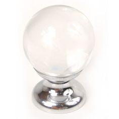 Small Round Glass Knob 1 inch $16.99