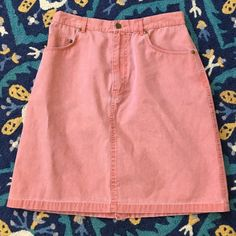 """Classic Preppy Nantucket Red Denim Mini Size 12 The classic skirt for summer! From Murray's Nantucket Toggery Shop - the real deal! 100% cotton. Higher waist so flattering cut. 30"""" waist. 20"""" length. Like new. Murray's Toggery Shop Skirts Mini"""