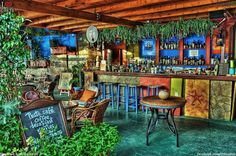Cafe Bar in Bali Crete
