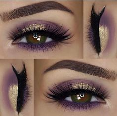 Metallic Makeup idea