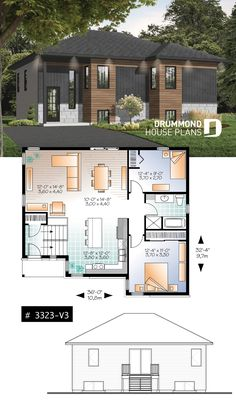 181 Best Modern House Plans & Contemporary Home Designs
