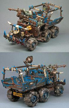 death+skulls+orks | Death, Orks, Skull, Skullz, Warhammer 40,000 - Trukk 1 - Gallery ...