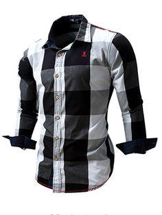 0cc3a0bfa3e 2016 New Arrival Men s shirt Long Sleeve Shirt Mens Dress Shirts Brand  Casual Fashion Business Style Shirts Cotton 064