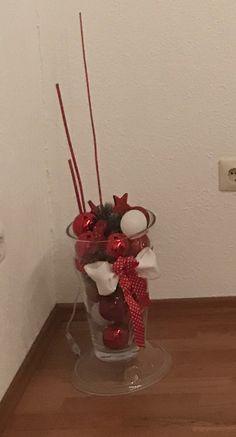 Weihnachtsdeco Rot weiß