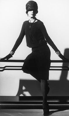 a little black dress actually worn by Gabrielle Coco Chanel in 1926.