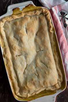 autumn chicken pot pie - Jelly Toast