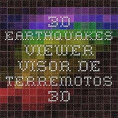 3D Earthquakes Viewer - Visor de Terremotos 3D