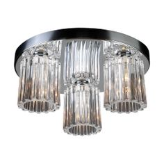PLC Lighting :: Product Details > Ceiling Mounts > FELICIA (1068) Polished Chrome