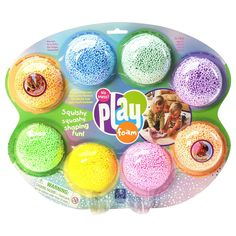 Learning Resources Play Foam Combo Autism Sensory Non-toxic Fun Kids Toy 8 Pack Learning Tools, Learning Resources, Autism Resources, Kids Learning, Mousse, Crafts For Kids, Arts And Crafts, Stress Toys, Fidget Toys