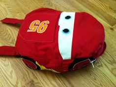 SarahB Sews: Little Things To Sew: Backpack - Cars version