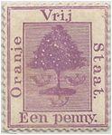 SAF - Orange Free State Stamp