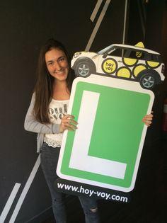 LAIA TUSELL!!! #hoyvoy #autoescuela #barcelona