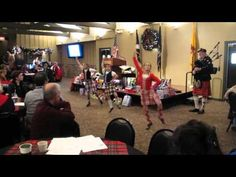 Three Young Highland Dancers Perform at DetroitScots Meeting Wow Crowd! - YouTube