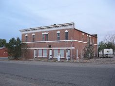 The Mason Hotel on main street in YERINGTON, NEVADA