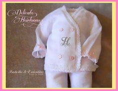 Coming home outfit?  3m Baby Girl Handcrafted Special Occasion White by MiniBambini, $49.00