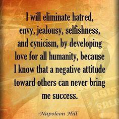 How important is attitude? #attitude #napoleonhill #success