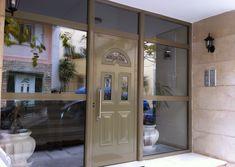 Πόρτες κύριας εισόδου αλουμινίου πολυκατοικιών, μονοκατοικιών. επαγγελματικών χώρων.