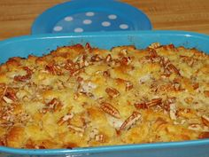 This recipe for Pineapple Dressing, Pineapple Casserole, or sometimes called Pineapple Bread Pudding is an old southern receipt and also a contest winner Easter Dinner Recipes, Thanksgiving Recipes, Holiday Recipes, Great Recipes, Dessert Recipes, Favorite Recipes, Desserts, Easter Brunch, Delicious Recipes